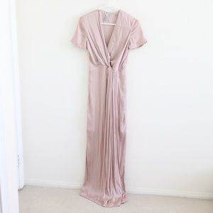 Like New Blush Pink Elegant Long Dress